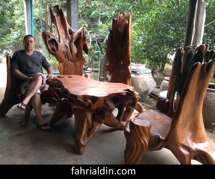 One of Fahri Aldin s fine  original solid wood furniture designs. Furniture Design Picture Gallery page   unique  solid wood